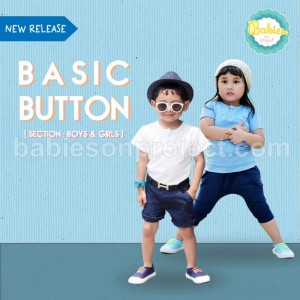 Button Tee Basic